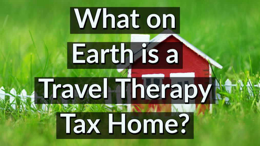 occupational therapy tax home