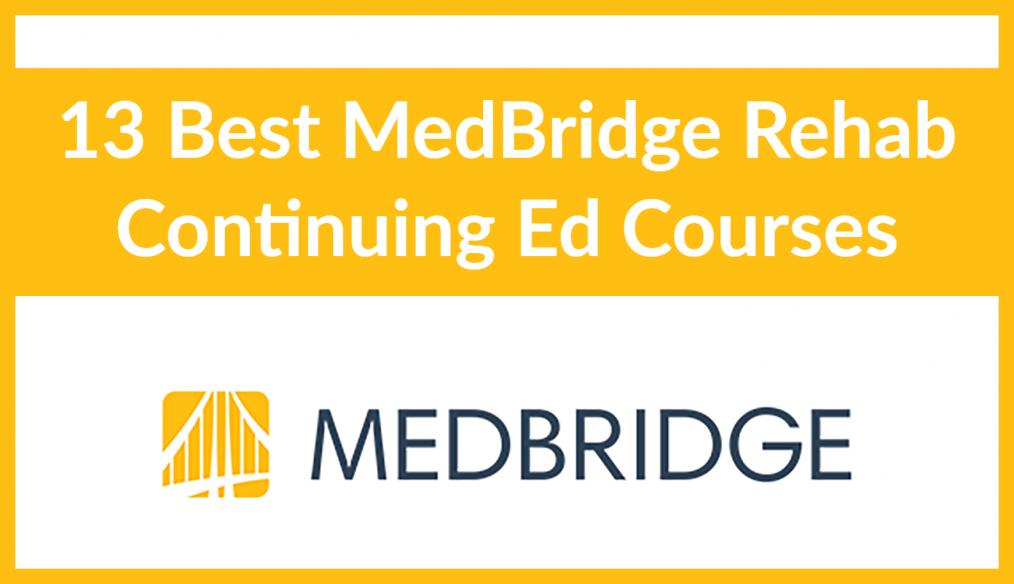 13 medbridge courses5