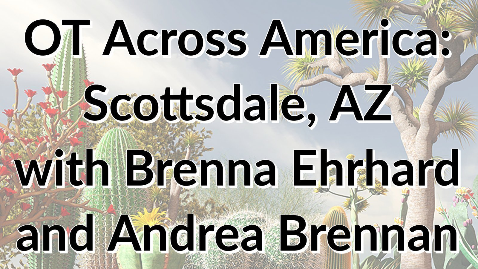 OT Across America: Scottsdale, AZ with Brenna and Andrea