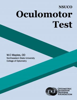 NSUCO oculomotor test