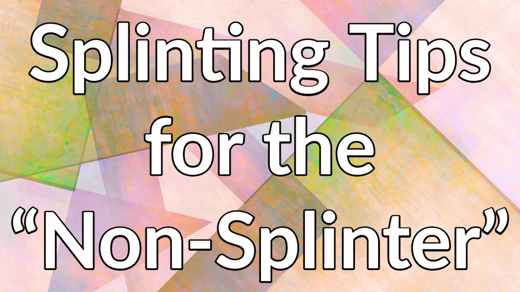 neuro splinting tips main