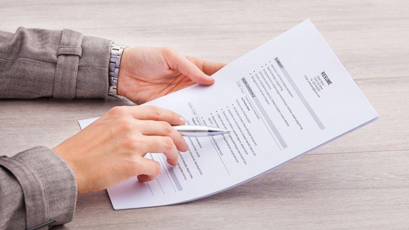 ot resume recruiter