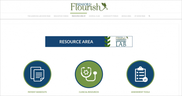 Learning Lab resources area