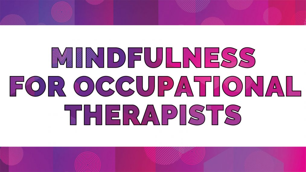 mindfulness for occupational therapy main