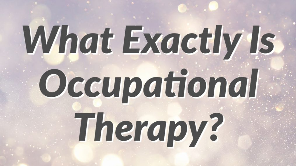 what is occupational therapy main2