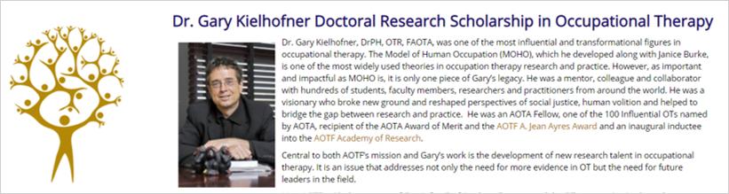 dr kielhofner scholarship