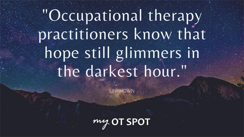 occupational therapy quote - myotspot 3