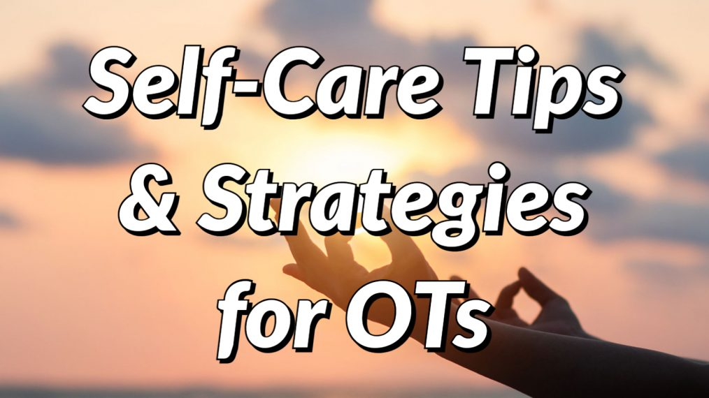 self care for occupational therapists