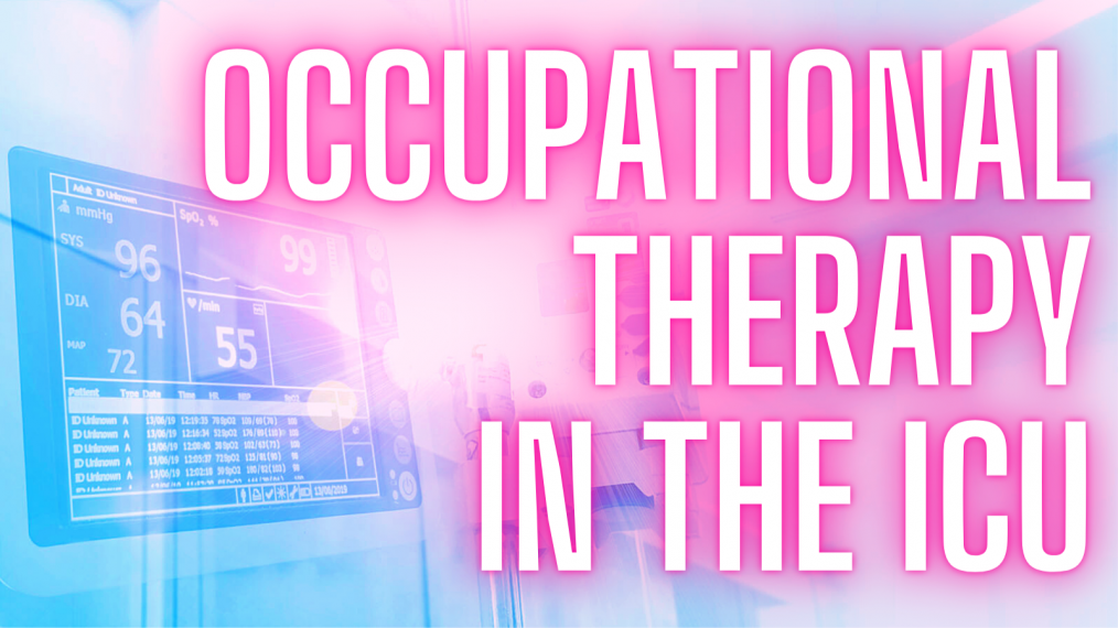 occupational therapy in the icu