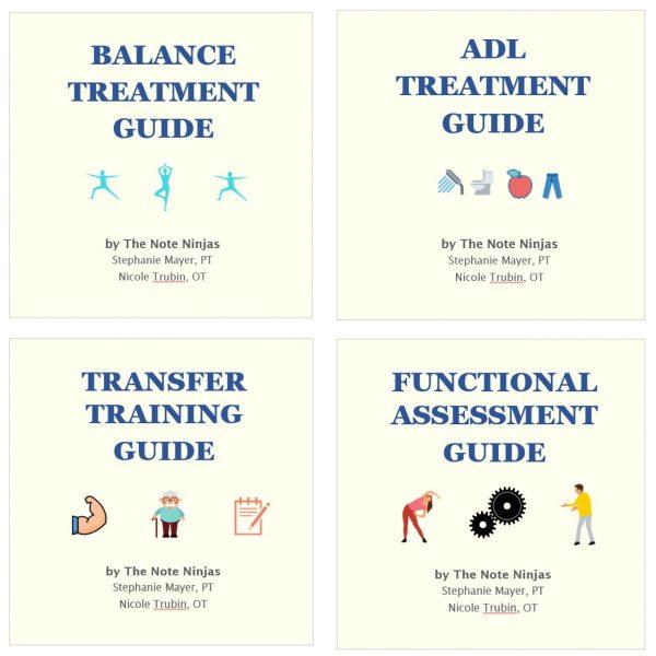 note ninjas 4 treatment guides bundle