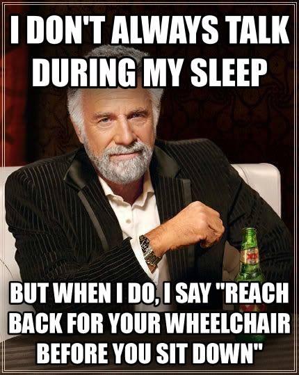 wheelchair ot meme